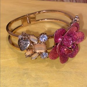Betsey Johnson rose bracelet
